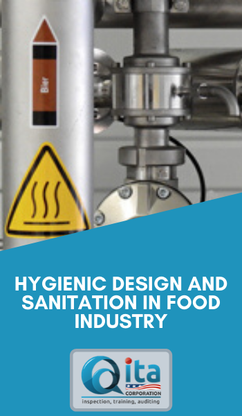 Hygienic Design and Sanitation in Food Industry