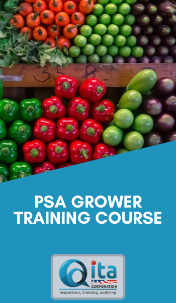 PSA Grower Training Course